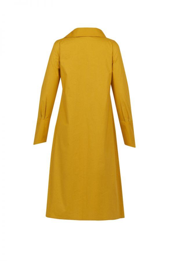 Beyaz Butik - Poplin Gömlek Elbise